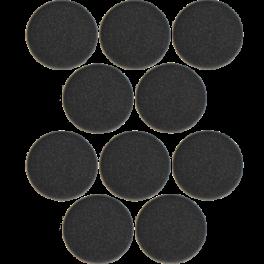 Almofadas goma espuma para Jabra Evolve 20-65 (x10)
