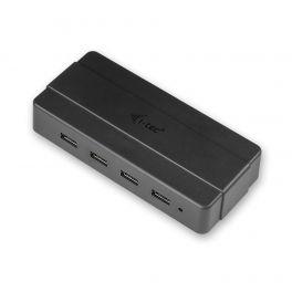 i-tec U3HUB445 hub de interface USB 3.0 (3.1 Gen 1) Type-B 5000 Mbit/s Preto