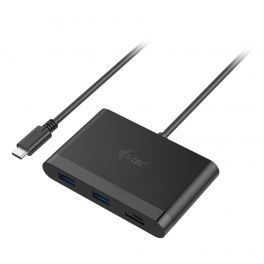 i-tec C31DTPDHDMI hub de interface USB 3.0 (3.1 Gen 1) Type-C 5000 Mbit/s Preto