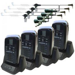 4 Dynascan 1D + 4 Kit Bodyguard