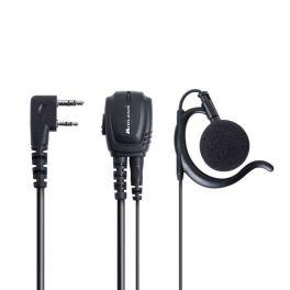 Midland BA21: Kit auricular de contorno 2 pin Kenwood