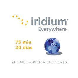 Recarga 75 minutos - Válido por 30 dias Iridium