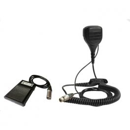 Pedal de controle de pé PTT para Motorola DP3441