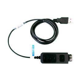 Cabo adaptador USB DSU011M com conexão QD tipo Plantronics
