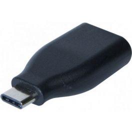 Adaptador monobloco macho USB-A 3.0 a USB-C 3.0
