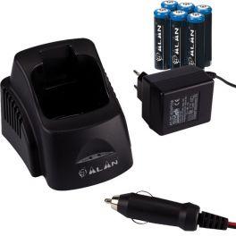 Carregador + Baterias para Alan 445 BT