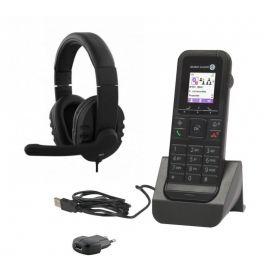 Alcatel 8232S + carregador com alimentador + auricular HS-300