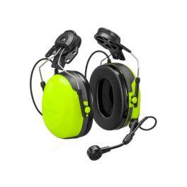 3M Peltor CH3 FLX2 com microfone e PTT - Aplicação capacete