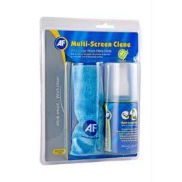 AF Spray e pano para limpar ecrãs