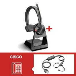 Pack Plantronics Savi 7210 Office Mono com atendedor eletrónico para Cisco