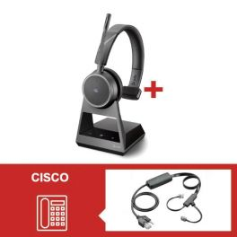 Pack Plantronics Voyager 4210 Office USB-C MS com atendedor eletrónico para Cisco