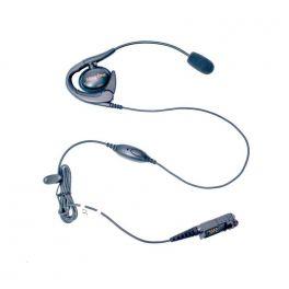 Auricular contorno de orelha com microfone para Motorola DP3441