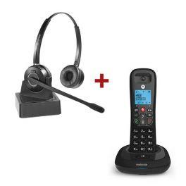 Pack Motorola CD4001 + Cleyver HW15