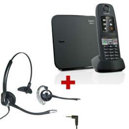 Gigaset E630 + auiricular OD HC10 (Jack 2.5 mm)