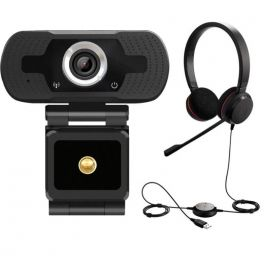 Jabra Evolve 20 MS Stereo com webcam