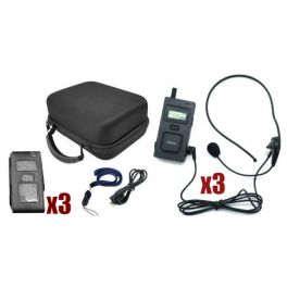 Intercomunicador Multicom MC-11 - Pack Trio
