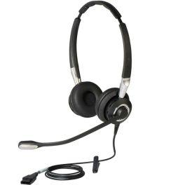 Jabra BIZ 2400 II Duo e microfone ultra cancelamento de ruído