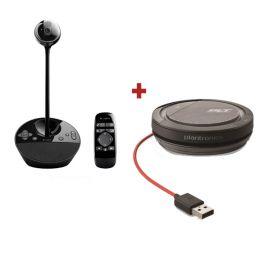 Pack Logitech BCC950 + Plantronics Calisto 3200 - USB-A