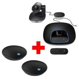 Pack Logitech Group + 2 microfones de expansão