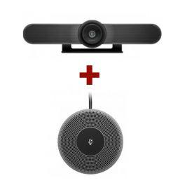 Logitech MeetUp Webcam + Microfone de expansão