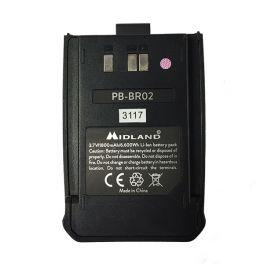 Bateria de substituição para Midland BR-02