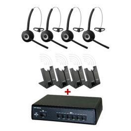Pack comunicações Ligateam + 4 auriculares Jabra 920