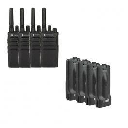 Pack de 4 Motorola XT420 + 4 baterias de substituição