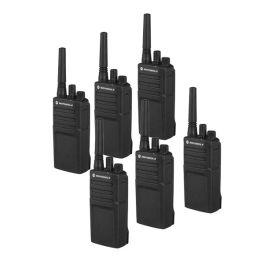 Pack de 6 walkie talkies Motorola XT420