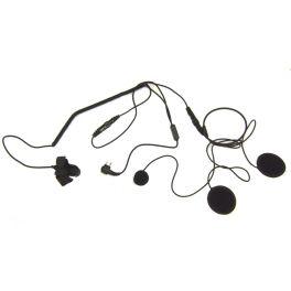Micro-auricular para capacete compatível com Motorola 2 pins