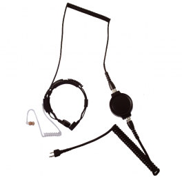 Laringófono LGR-32SS con adaptador TKLR