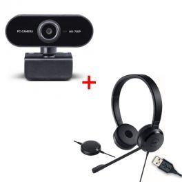 Dell Pro UC150 + Midland W199 Webcam