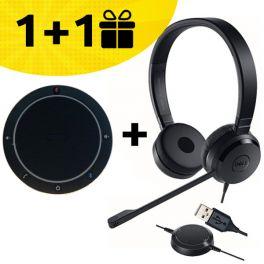 Por cada altavoz Cleyver comprado, um auricular Dell de oferta