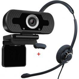 Cleyver HC60 USB com Webcam USB HD