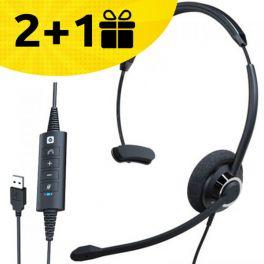 Por cada 2 auriculares Cleyver HC60 comprados, 1 de oferta