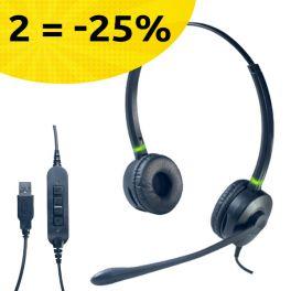 Por cada 2 auriculares Cleyver HC95 comprados, oferta -25%