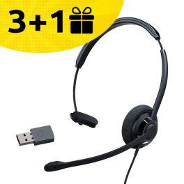 Por cada 3 auriculares Cleyver HW60 comprados, 1 de oferta