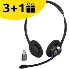 Por cada 3 auriculares Cleyver HW65 comprados, 1 de oferta