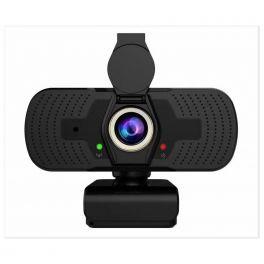 Webcam USB HD Compacta com lente de privacidade