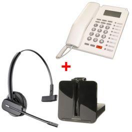 Pack escritório: auricular CS 540 + tel. PK 111