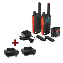Pack Motorola T82 + 2 bases carregadoras