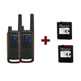 Pack Motorola T82 + Baterias potentes 1300mAh