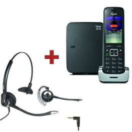 Gigaset SL450 Preto + Auricular OD HC10