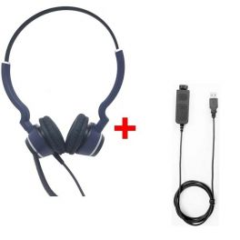 Pack: Cleyver HC25 QD Duo + Cabo Cleyver USB80