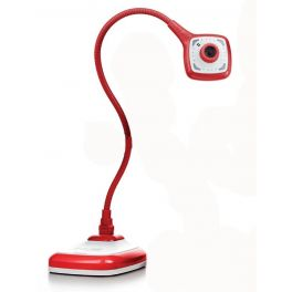 HUE HD PRO Câmara de Documentos/Webcam flexível - Vermelho