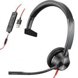 Plantronics Blackwire 3315 USB-A + Jack 3,5
