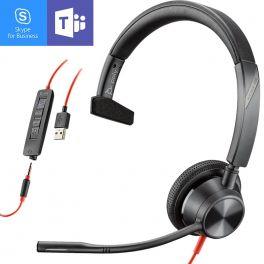 Plantronics Blackwire 3315 USB-A + Jack 3,5 MS