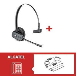 Para telefones Alcatel: Plantronics CS540 + atendedor