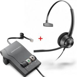 Plantronics EncorePro 310 + Amplificador Vista M22