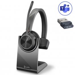 Poly Voyager 4310 USB-A Microsoft Teams + Base de carga