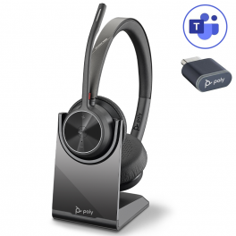 Poly Voyager 4320 USB-C Microsoft Teams + Base de carga